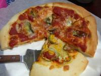 残ったピザ
