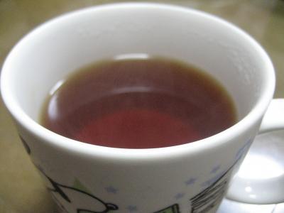 紅茶が・・・