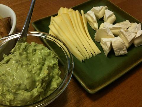 チーズ&アボカドディップ