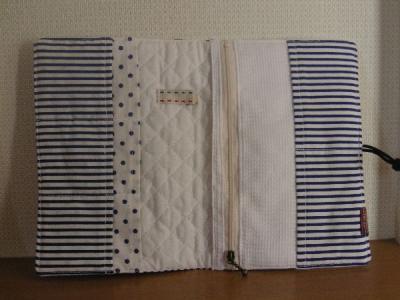 母子手帳ケースイカリ花いちご-2