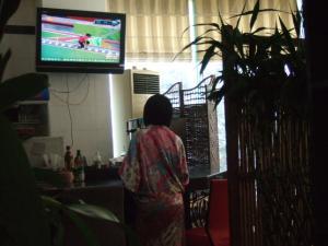 日本橋亭のテレビ