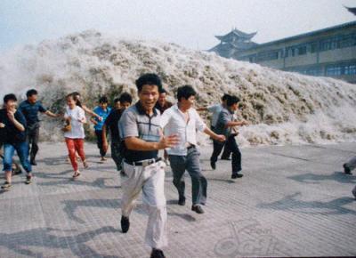 銭塘江の逆流⑥