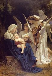 歌を歌う天使達