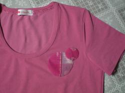 Tシャツ 和ップリケ