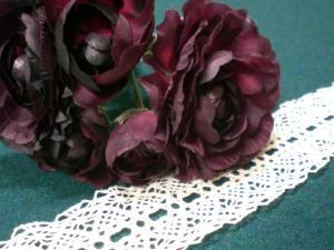 vitaの花とレース