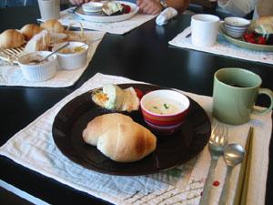 朝食も・一緒に~♪