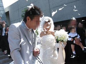 みんなが幸せになれた・お二人の結婚式♪