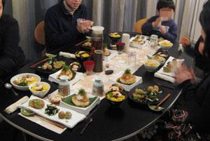 Murakawa家のみんなと・夕食会♪