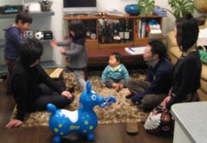 みんなで遊びました♪ 青色ロディーも参加^^