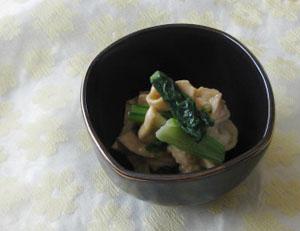 滋賀の特産☆丁子麩辛子和え