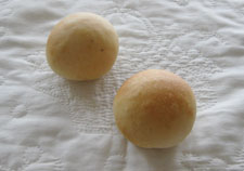 いちご酵母の丸パン♪ 最近また、よく作っています~