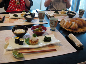 KitouサンとYukaチャンと、ヘルシー和食メニュー♪