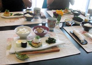 Mayumiチャンのお友達・EikoチャンとRieチャンと ヘルシー和食♪