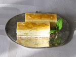 チーズケーキ特集☆オレンジ風味のチーズケーキ♪