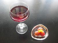 ミニトマトのコンポート と 簡単★サングリア