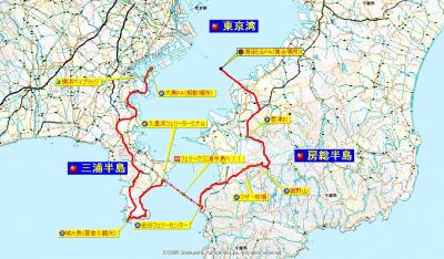 0124GooBike同行ツーリング道程
