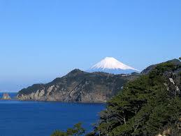 伊豆 黄金崎からみた富士山 イメージ