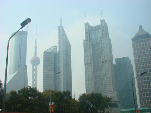 Shanghai buildings