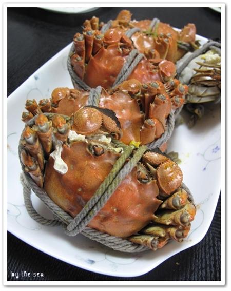 上海 古北 市場&上海蟹