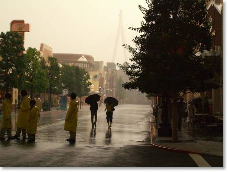 雨がひどい・・・