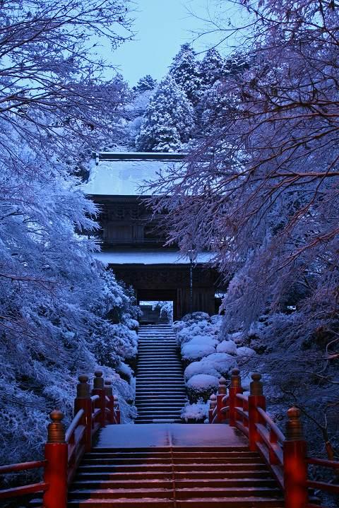 2010.2.2雲厳寺雪景色
