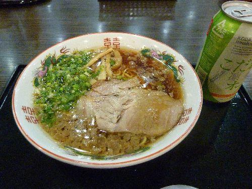 福島SA下り 尾道ラーメン