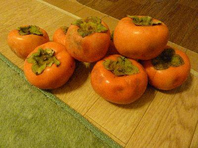 また柿です。
