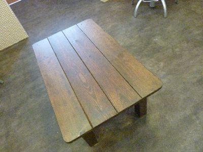 新ローテーブル