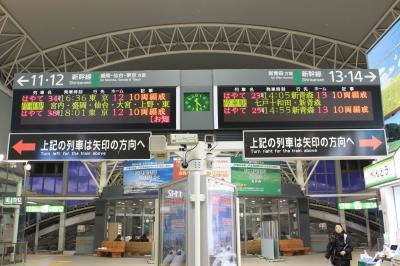 再び八戸駅
