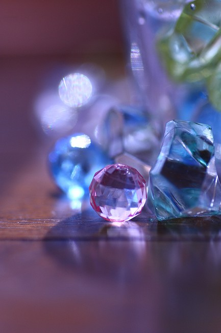 ガラス玉0580-s