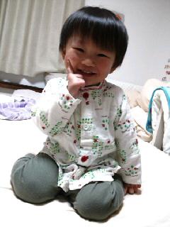 お気に入りのパジャマ