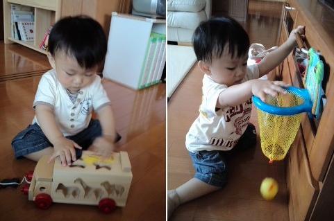 おもちゃも大好き!