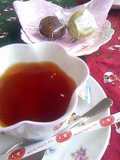 トヨペットさんでお茶