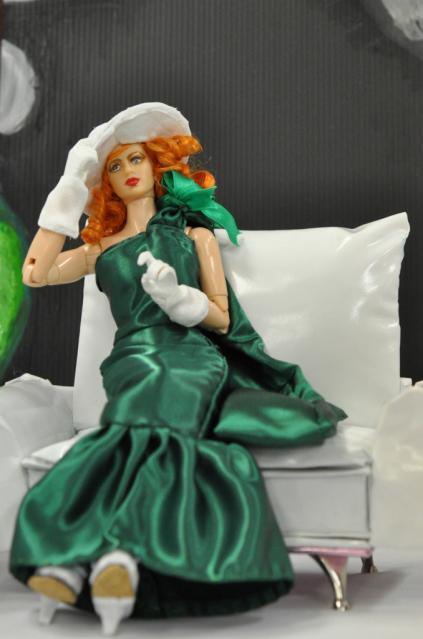 ギゼット(タマラ・ド・レンピッカ『緑の服の女』より) (2)