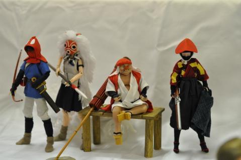「もののけ姫」の面々(武装神姫) (2)