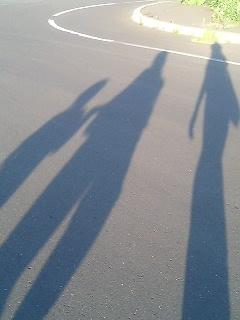 4人で散歩。