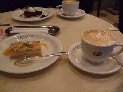 ホワイトチョコとレモンのチーズケーキ