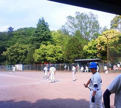 今年の初戦野球