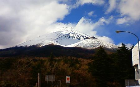 富士山宝永火口