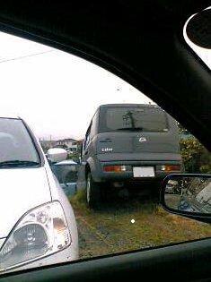 落ちた車1