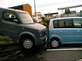 落ちた車2