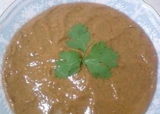 トマトと大葉のスープ