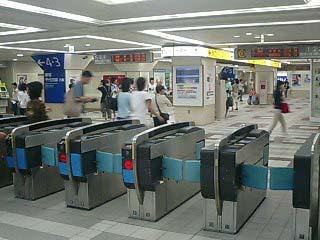 町田駅改札
