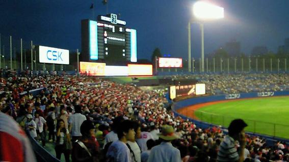 2008-9-15 神宮球場 カープvsヤクルト