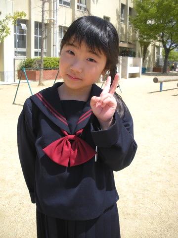 日菜小学校入学式4