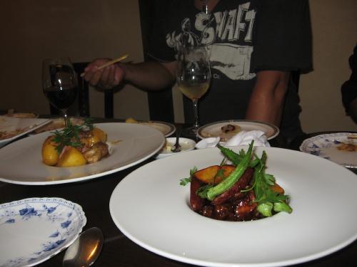 肉料理各種