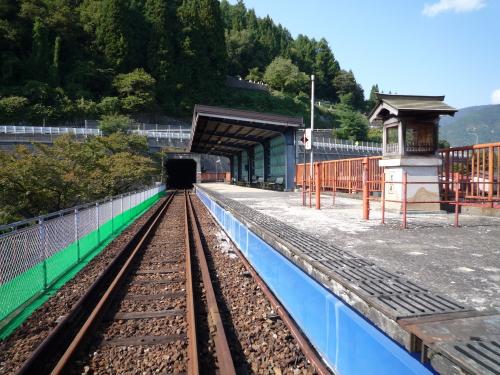途中の駅です