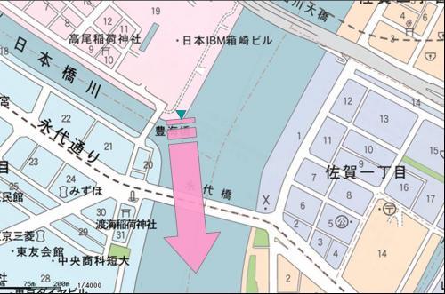永代橋東京縮小