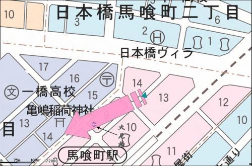 馬喰町東京縮小