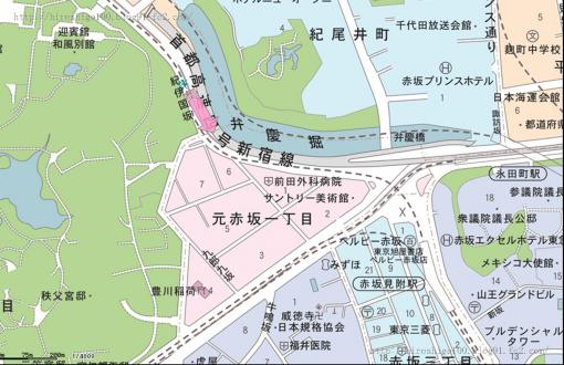 085紀の国坂赤坂溜池遠景B